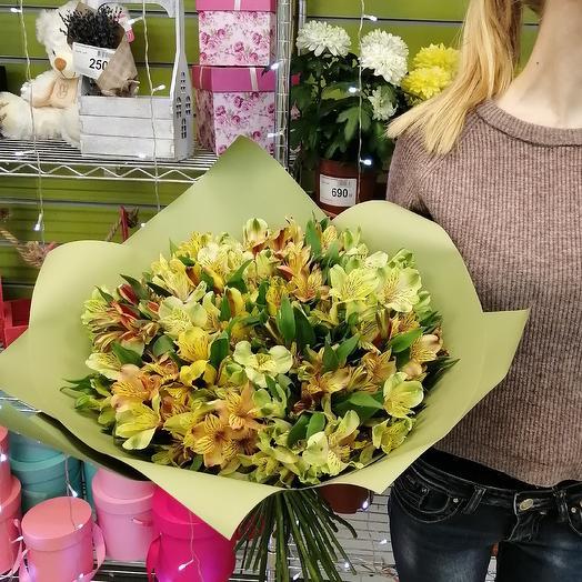 31 Альстромерия: букеты цветов на заказ Flowwow