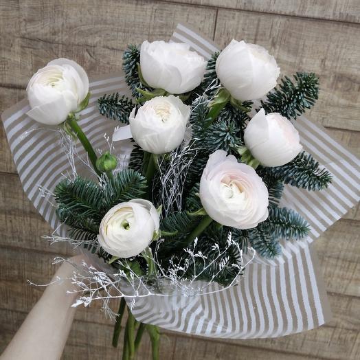 Шикарные ранункулюсы только для принцессы: букеты цветов на заказ Flowwow