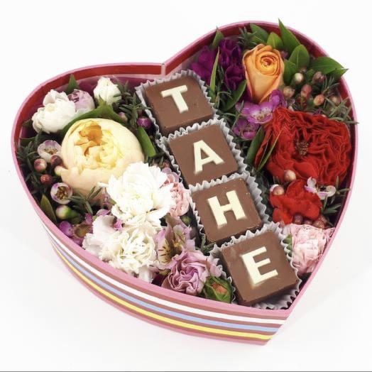 Для Татьяны: букеты цветов на заказ Flowwow