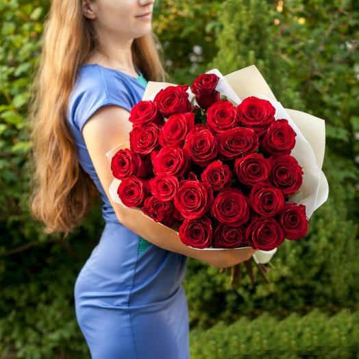 ✅ Красные розы 27