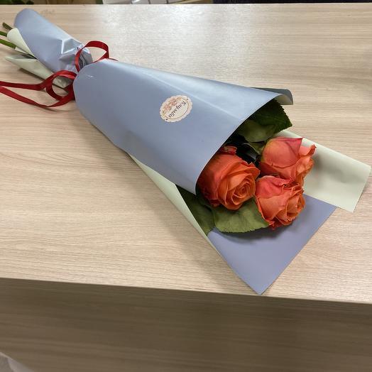 Букет «Оранжевое небо»: букеты цветов на заказ Flowwow