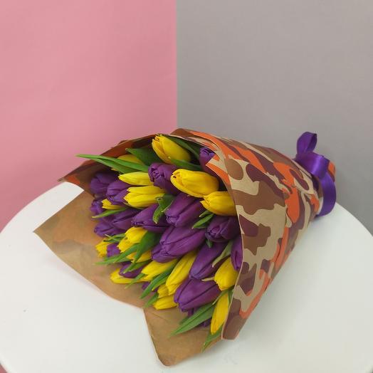 """Букет """"Короновирус не пройдет"""": букеты цветов на заказ Flowwow"""