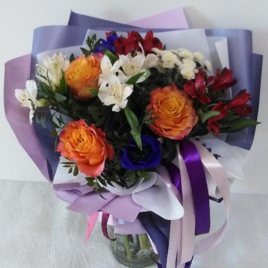 Танец костра: букеты цветов на заказ Flowwow