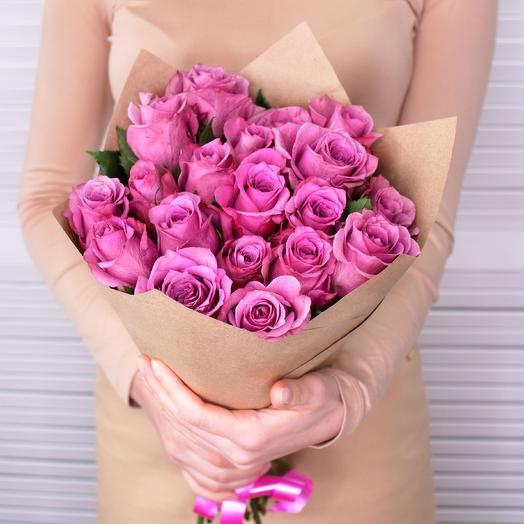 19 роз Премиум Кения