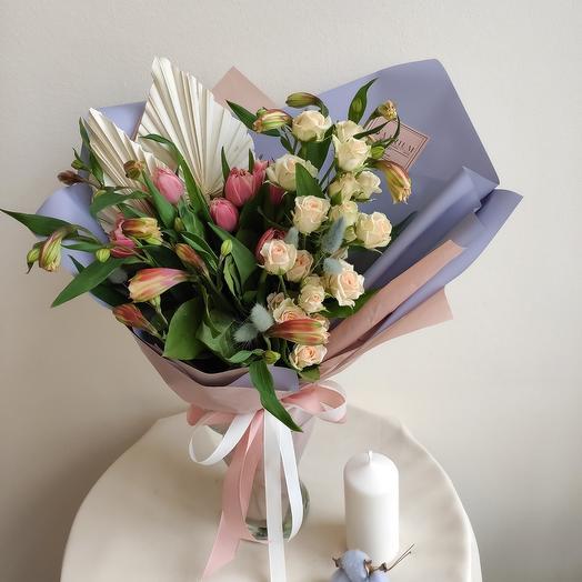 Этьен: букеты цветов на заказ Flowwow