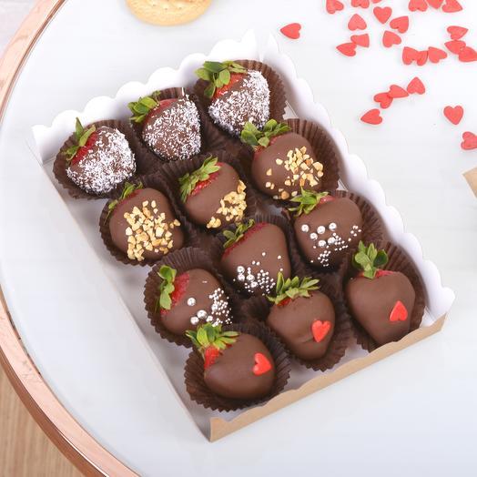 Вкусная Клубника в Бельгийском шоколаде