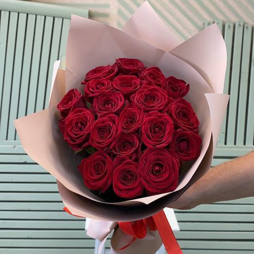 Букет роз « Милена»  21 шт