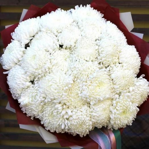 Букет из 25 хризантем Антонов