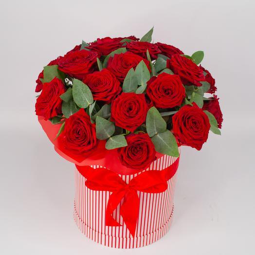 Коробочка с розами 12