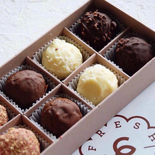 """Шоколадные трюфели """"Ассорти"""" натуральные ингридиенты"""