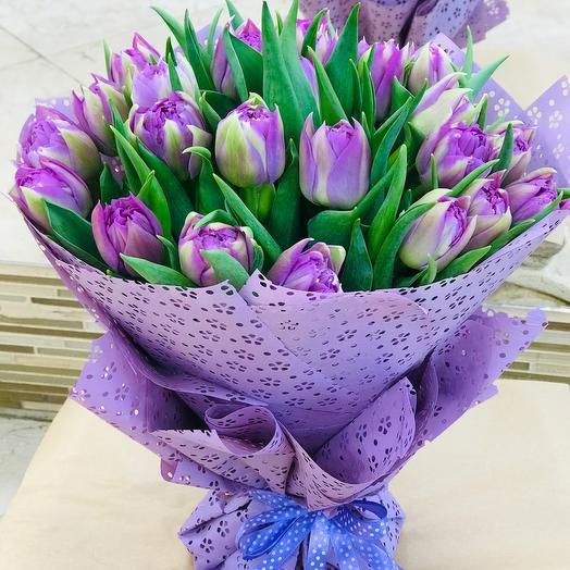 Тюльпаны ароматные пионовидные Эквадор