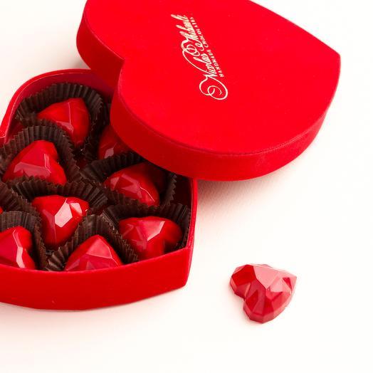 """Шоколадные конфеты - сердечки """"Валентинка"""""""
