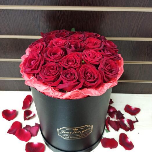 Цветы в коробке N5
