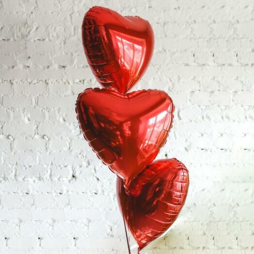 Сердце Фольгированные