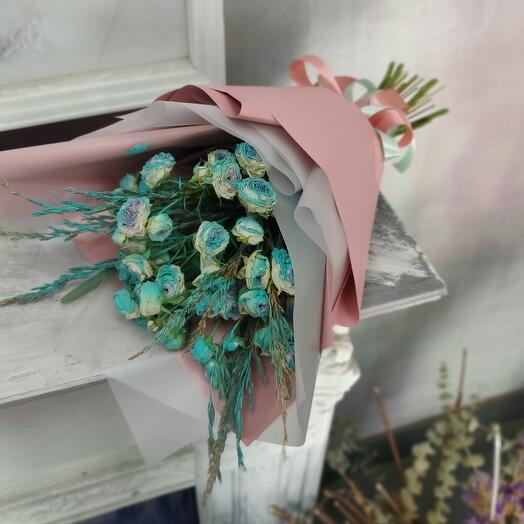 Букет из сухоцветных цветов