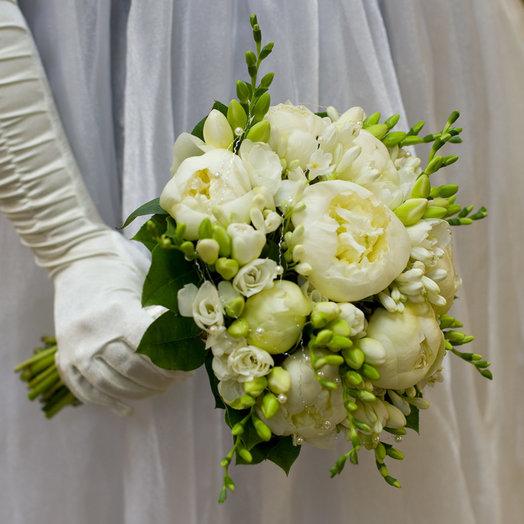 Букет невесты Жемчужный