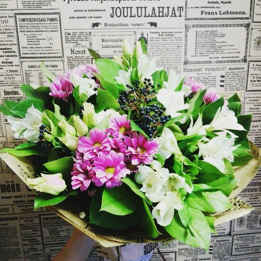 Свежий ветер: букеты цветов на заказ Flowwow