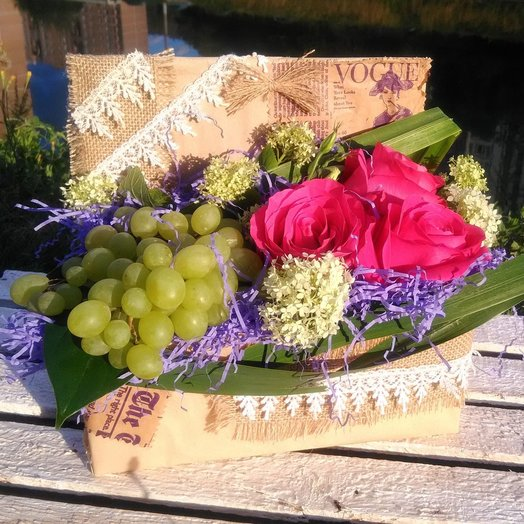 Композиция Просто Август: букеты цветов на заказ Flowwow