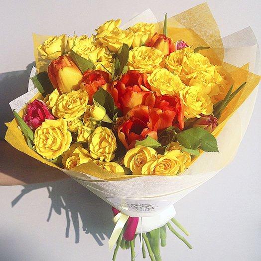 Букет 012: букеты цветов на заказ Flowwow