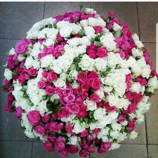 Букет кустовых роз 101: букеты цветов на заказ Flowwow