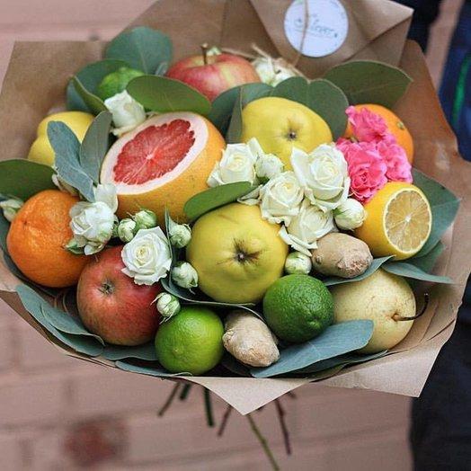 Грейпфрутовый гигант: букеты цветов на заказ Flowwow