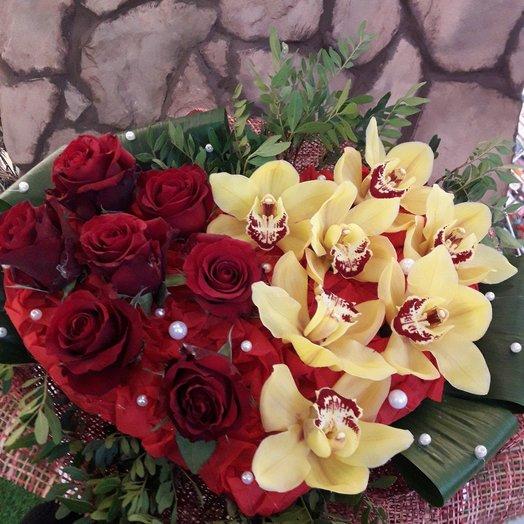 Любимая: букеты цветов на заказ Flowwow