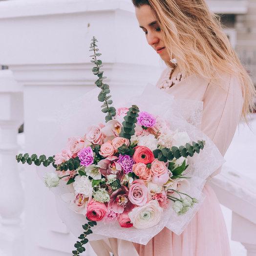 Любовь в чистом виде: букеты цветов на заказ Flowwow