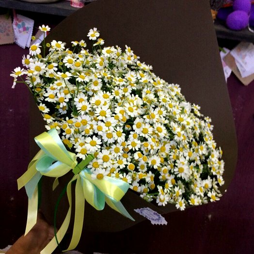 Ромашки для милашки: букеты цветов на заказ Flowwow
