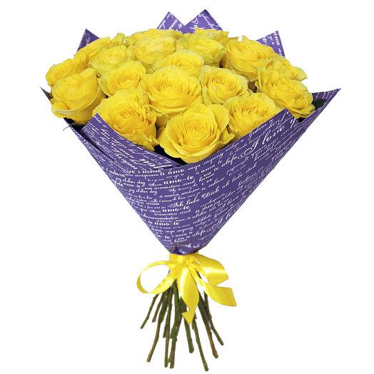 Букет 39 19 шт 50см: букеты цветов на заказ Flowwow