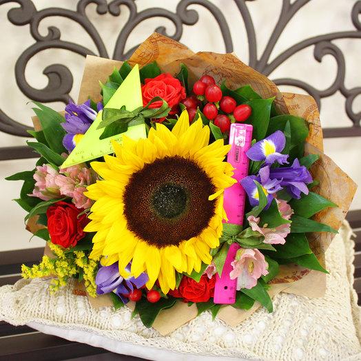 """Букет """"Отличнику"""": букеты цветов на заказ Flowwow"""