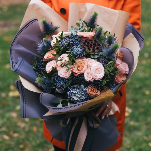 Вельвет: букеты цветов на заказ Flowwow
