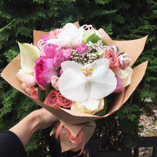 Авторский букет Леннокс: букеты цветов на заказ Flowwow