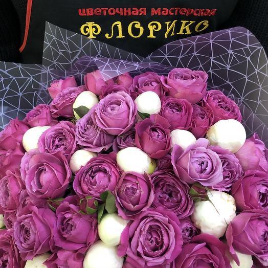 Букет «Жемчужина красоты»: букеты цветов на заказ Flowwow