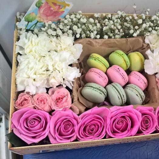 Сладоежка: букеты цветов на заказ Flowwow