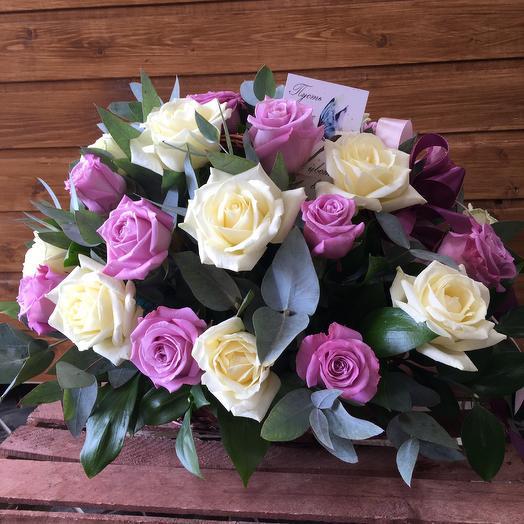 """""""Розовая нежность """": букеты цветов на заказ Flowwow"""