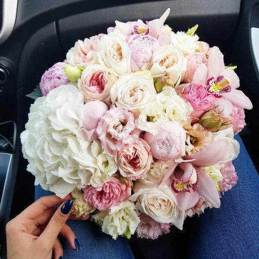 Пудровый: букеты цветов на заказ Flowwow
