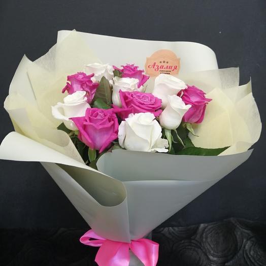 Сливочный: букеты цветов на заказ Flowwow