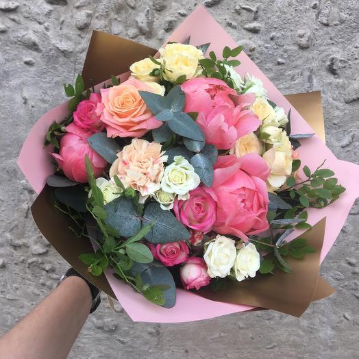Букет Романтичный: букеты цветов на заказ Flowwow