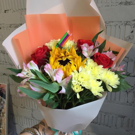 Отличница: букеты цветов на заказ Flowwow