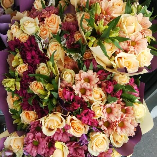 Микс эконом: букеты цветов на заказ Flowwow