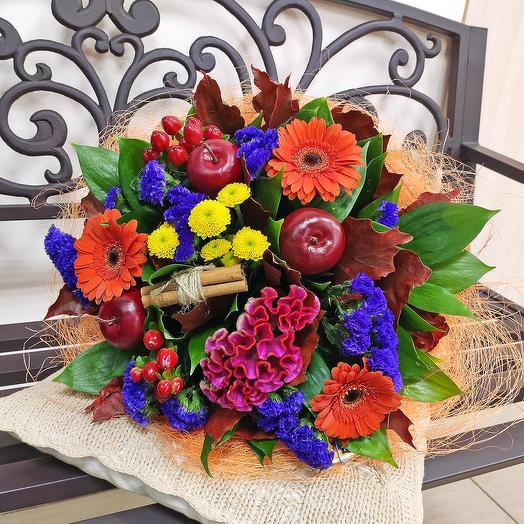 Букет Осенний день: букеты цветов на заказ Flowwow