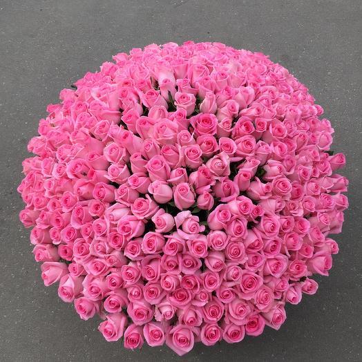 Корзина цветами