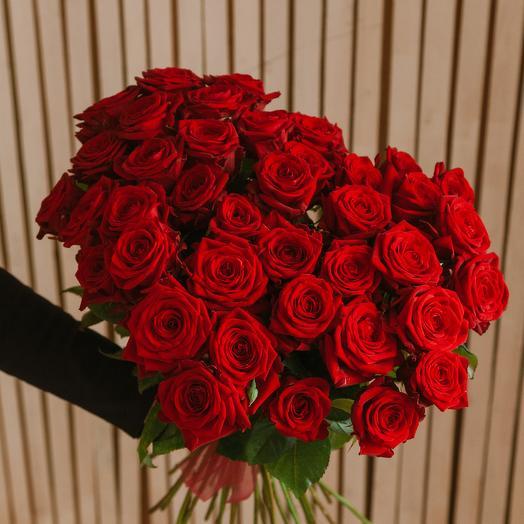 Яркий поцелуй: букеты цветов на заказ Flowwow