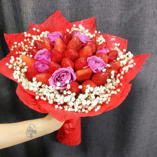 """Букет """"Искушение"""": букеты цветов на заказ Flowwow"""