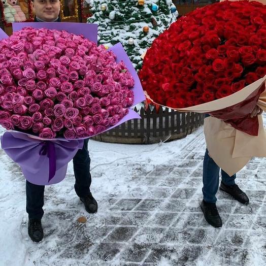 Премиальные букеты: букеты цветов на заказ Flowwow