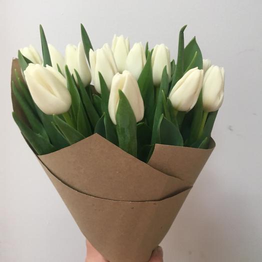 Тюльпаны 15 шт: букеты цветов на заказ Flowwow