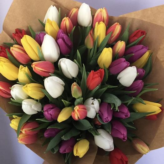 51 mix tulips