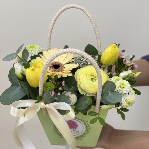 Композиция «Весна»: букеты цветов на заказ Flowwow