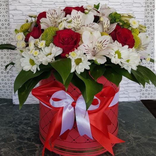 "Коробочка "" Моя радость"": букеты цветов на заказ Flowwow"