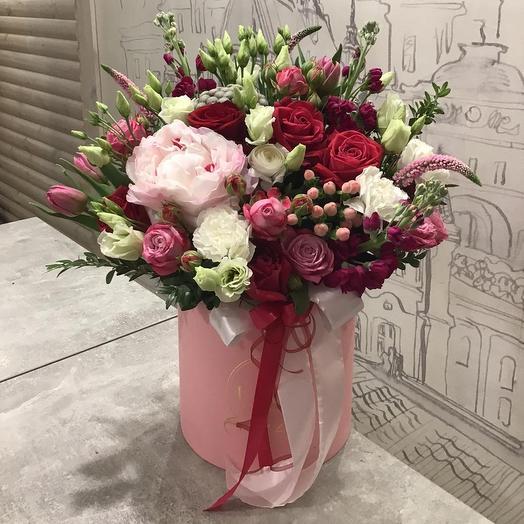 Цветы в Коробке 505